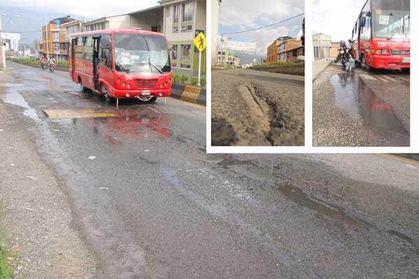 """""""Tramo de la calle 23 de Armenia, otro sector con mala planificación"""""""