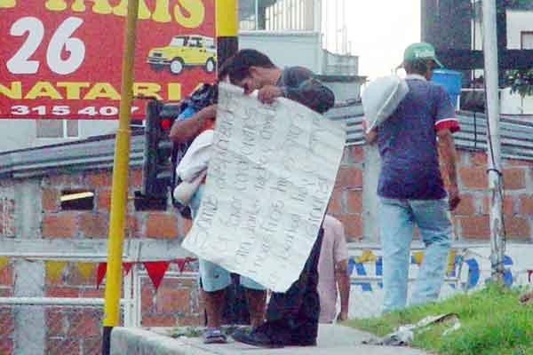 Amnistía denunció aumento de desplazados en Colombia