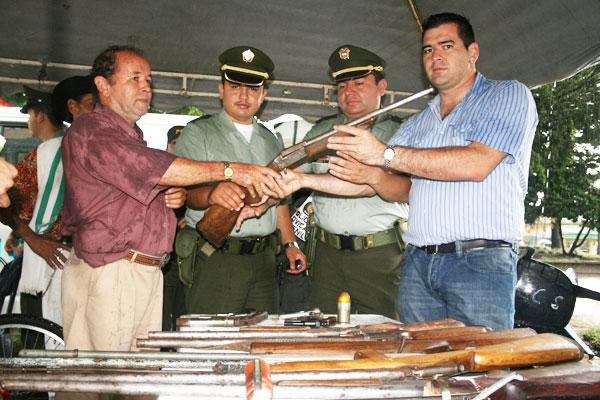 Quimbayunos cambiaron armas por comida