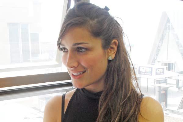 Oriana Hernández, una beldad con mucha energía