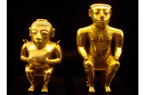 El tesoro de los Quimbayas