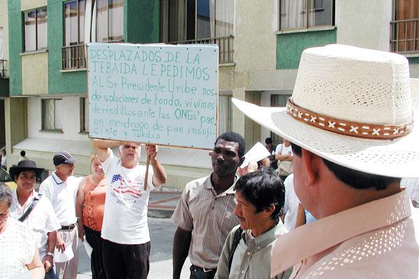 Desplazamiento, principal vulnerabilidad  de derechos humanos en el departamento