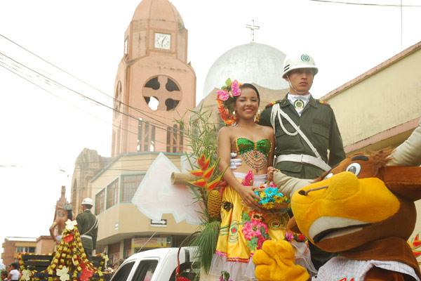 Las reinas protagonistas de las fiestas Quimbaya 96 años