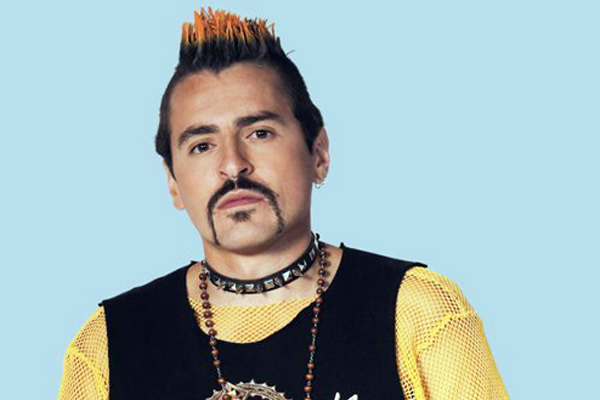 Rafa Zea es un 'punkero' fuera de lo común