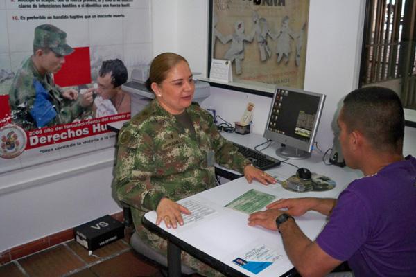 La octava brigada puso en funcionamiento oficina de for Oficina abierta definicion