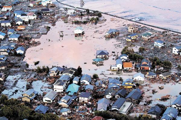 El terremoto y tsunami de Japón y  los quindianos testigos de la tragedia