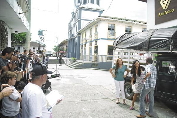 En Filandia, canal RCN graba la telenovela 'Allá te espero'
