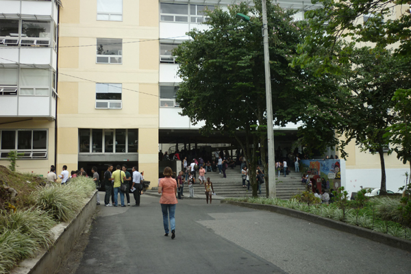 Un petardo fue activado en el interior de la universidad del Quindío