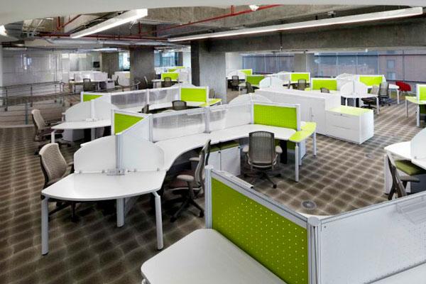 La modernidad de los espacios de trabajo la cr nica del for Oficinas para buscar trabajo