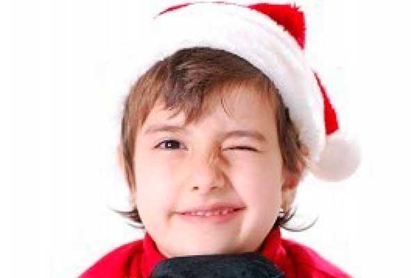 el gorro de navidad para los nios significa felicidad
