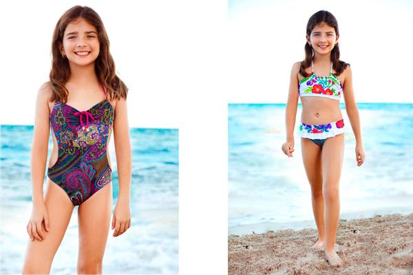 06f5ccc9d2dc Vestidos de baño para niños cargados de color y diseños divertidos ...