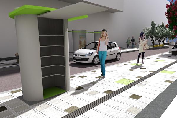 Serán 300 módulos los que se instalarán en el centro de Armenia para los vendedores ambulantes
