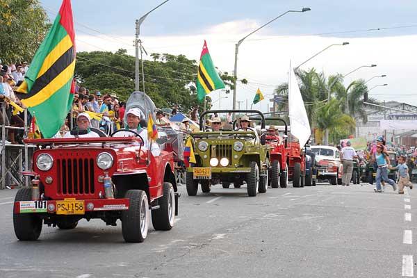 Desfile de carros clásicos