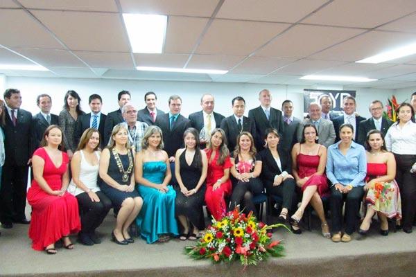 Cámara Junior hizo entrega de premios a jóvenes quindianos