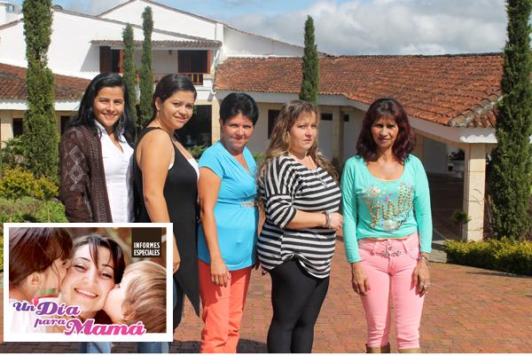 Cinco afortunadas celebraron con La Crónica del Quindío 'Un día para mamá'