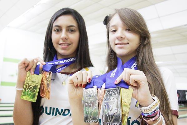 Dos lindas niñas: seis valiosas medallas! La Crónica del Quindío ...