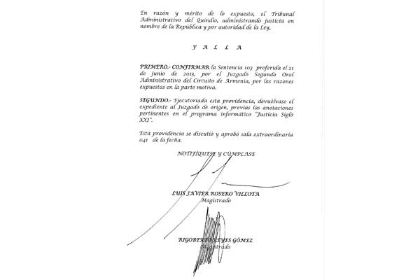 Fallo obliga a la Uniquindío a aprobar y adoptar estatuto para trabajadores