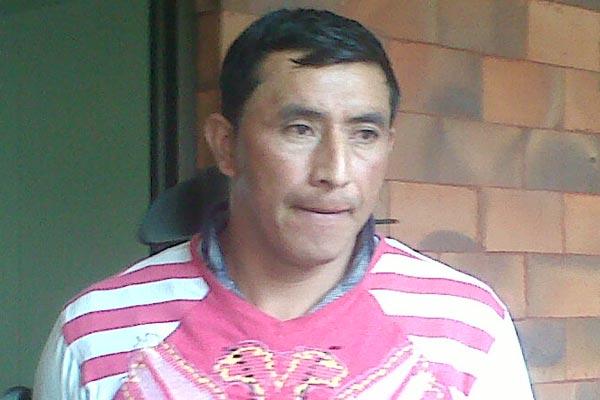 Indígena fue sorprendido con droga
