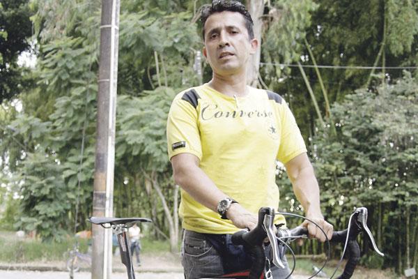 Jairo Hernández, gloria del  ciclismo  quindiano