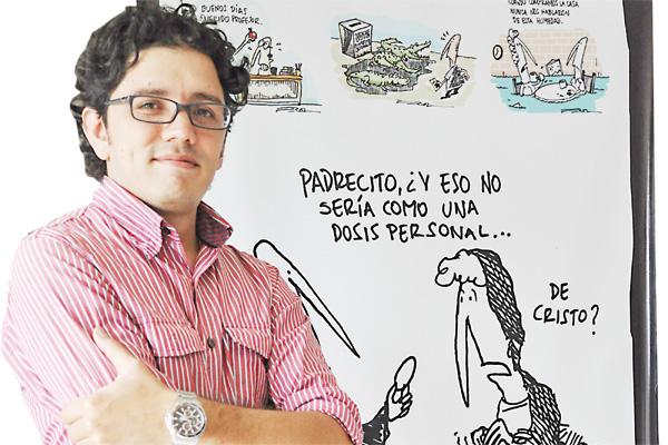 Feroz, buenas ideas  plasmadas en caricaturas