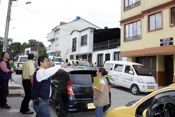 Movimientos telúricos en  el barrio Uribe: un misterio