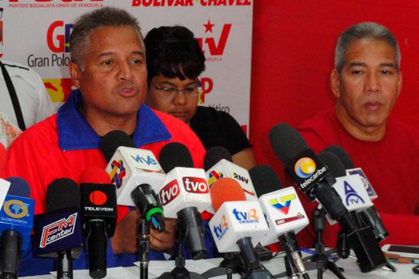 Marcano denunció plan para generar violencia