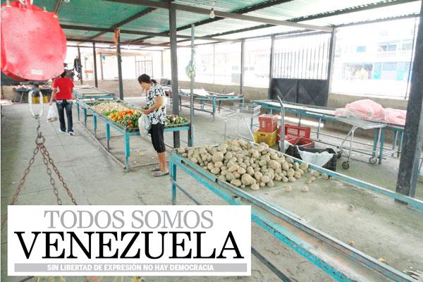 Protestas e inseguridad generan escasez y alto costo de vegetales