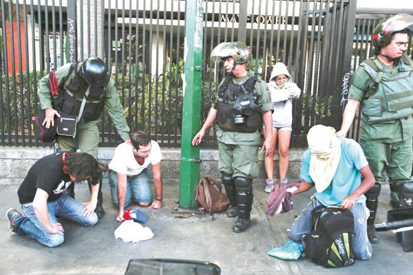 2.082 detenciones en protestas, ya van 96 privados de libertad