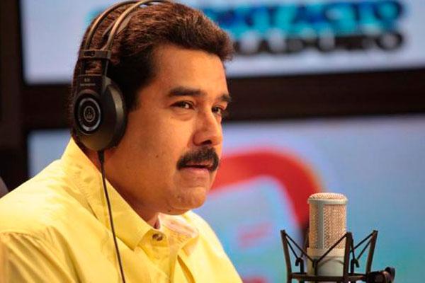 Maduro arremete contra Machado y critica la reacción de la MUD ante el presunto plan de magnicidio