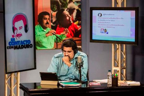 """Nicolás Maduro dice que lamenta que oposición """"haya dado una patada"""" al diálogo"""