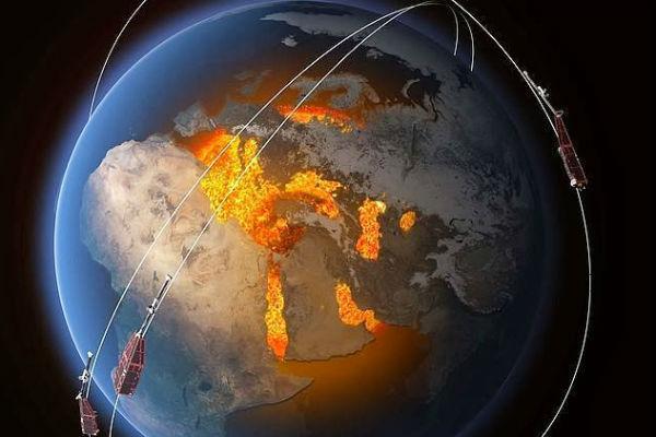 Satélites confirman el debilitamiento del campo magnético terrestre