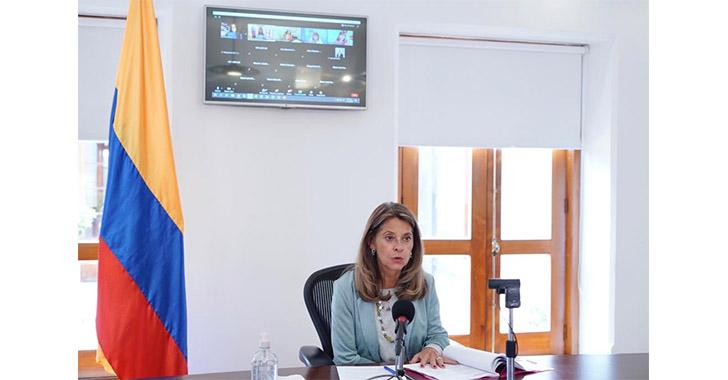 La vicepresidenta da positivo para la covid-19