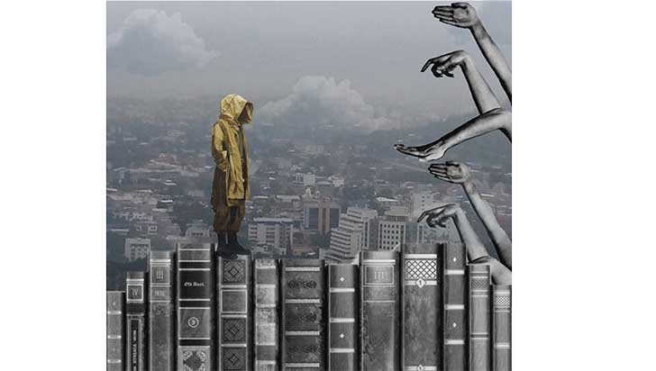 Anaqueles de palabras:  las librerías en Armenia