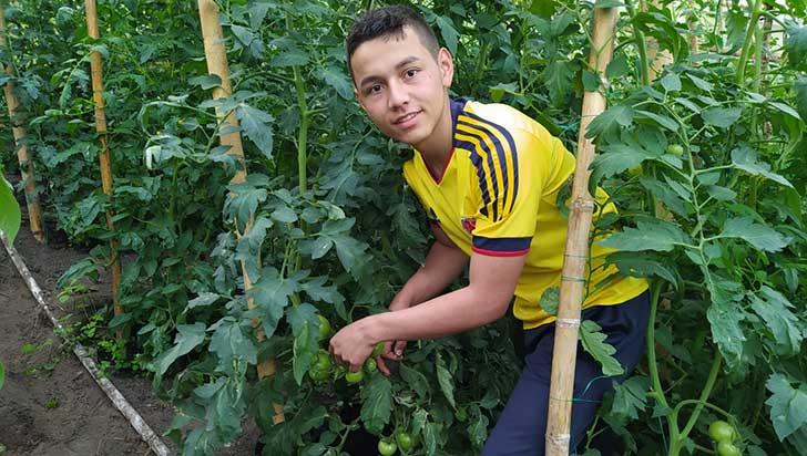 Wilson Andrés Muñoz, campesino de Pijao con beca para estudiar en Costa Rica