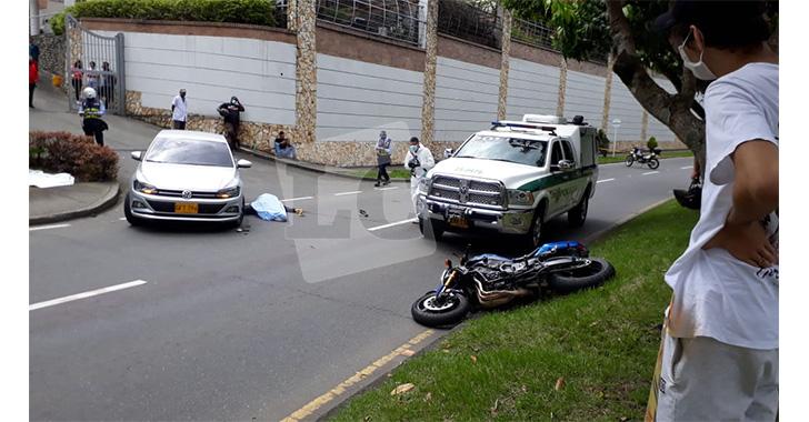 Fatal accidente de tránsito en el norte de Armenia