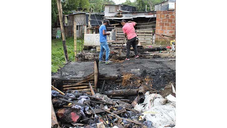 ¿Manos criminales detrás de los incendios en el Acacias Bajo?