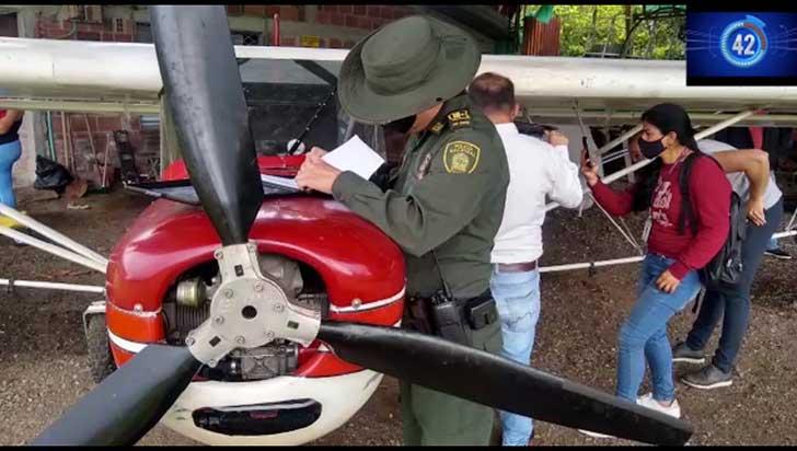 Incautaron avioneta en Pueblo Tapao