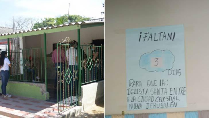 Esperando el fin del mundo, 25 personas se encierran en una casa en Barranquilla