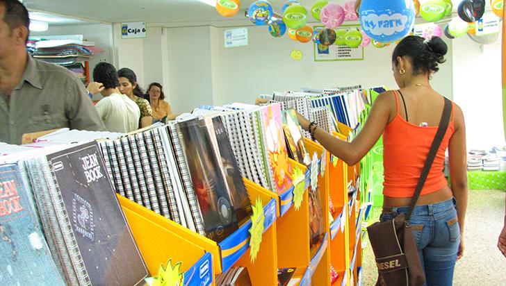 La venta de útiles escolares se  redujo 50 %: Fenalco Quindío