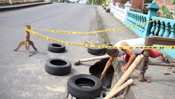 Hueco entre Santafé y Obrero Municipal, cada vez más grande