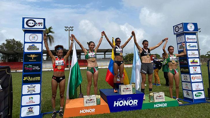 Quindiana ocupó el tercer lugar en nacional de cross country