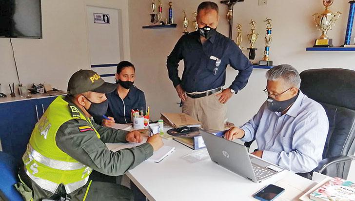 La vigilancia y el control contra las empresas ilegales de seguridad siguen en marcha en el Quindío