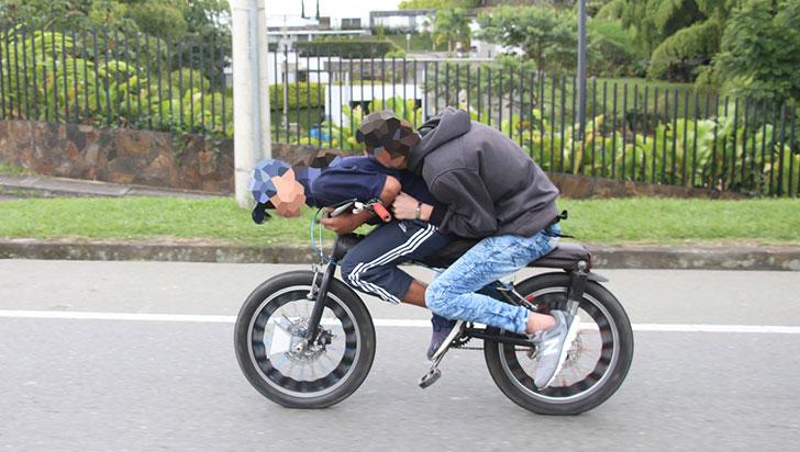 En la vía La Línea no se registra el Gravity Bike: Policía de Carreteras