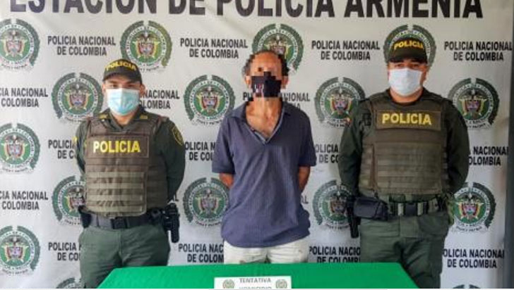 Hombre de 50 años fue capturado por tentativa de feminicidio