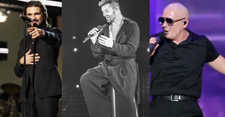 Juanes, Ricky Martin y Pitbull actuarán en los Latin American Music Awards