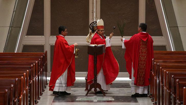 Semana Santa sin procesiones,  pero sí con actos litúrgicos