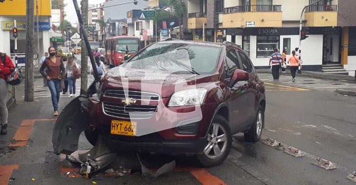 2 accidentes de tránsito en la mañana de este miércoles en Armenia