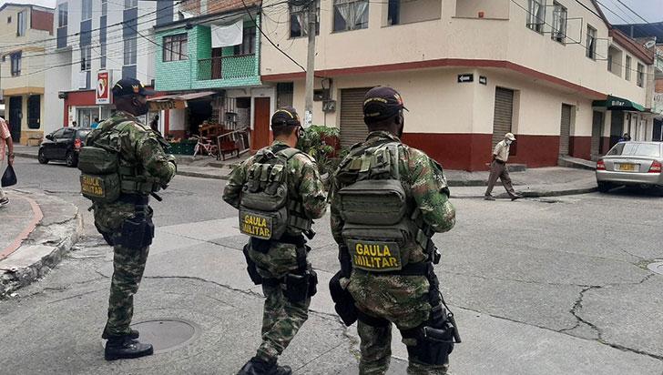 Gaula Militar impidió extorsiones por más de $132 millones en el Eje