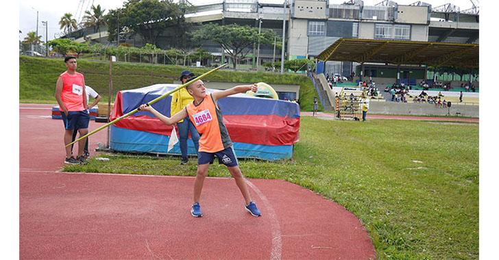 56 deportistas a la fase nacional de los intercolegiados