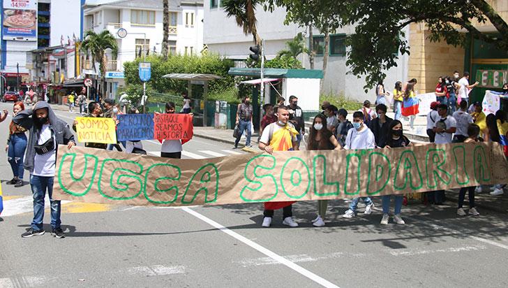 Estudiantes de universidades privadas también se suman  a movilización social